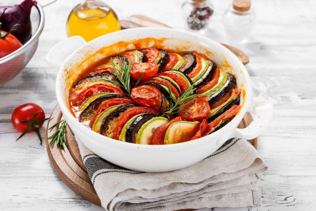 Ρατατούι - γαλλική κουζίνα