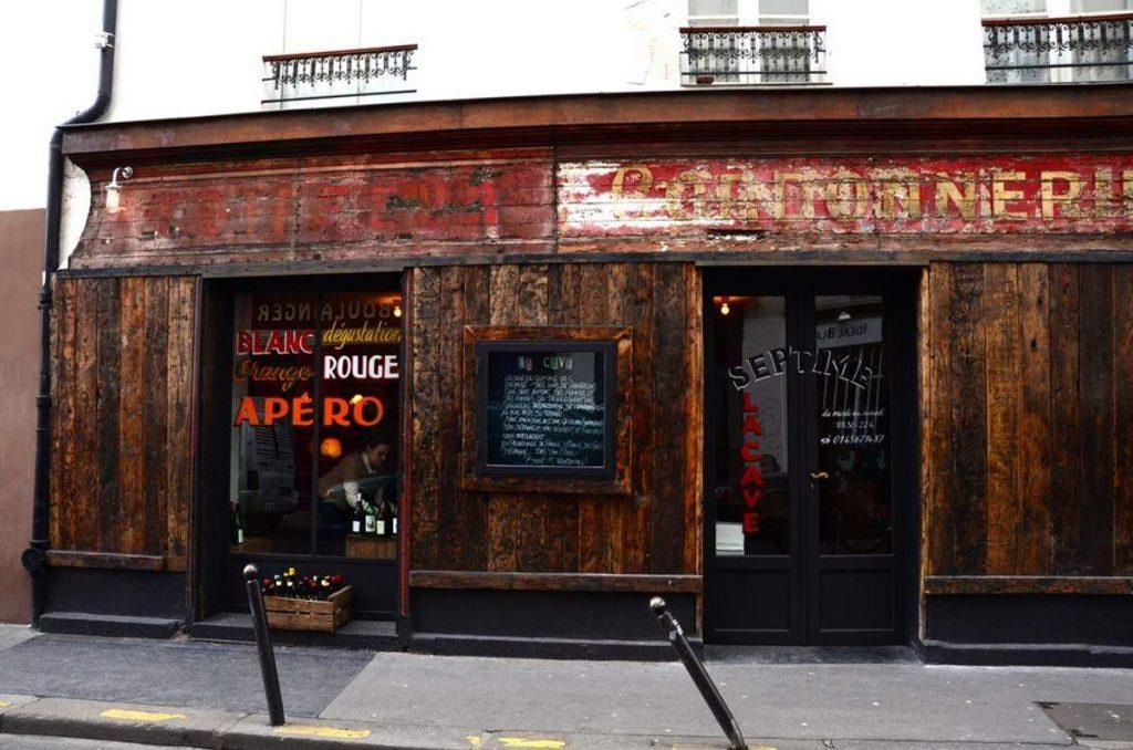 Septime La Cave μπαρ Παρίσι