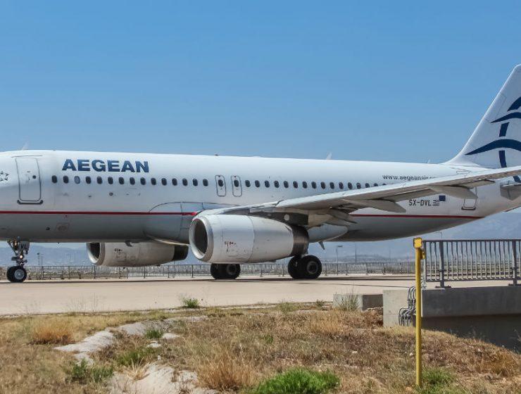 Aegean αεροπλάνο