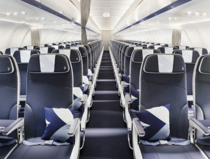 Aegean εσωτερικό αεροπλάνου