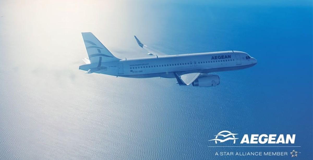 Aegean: Με 6 δυνατούς προορισμούς ξεκινάει πτήσεις από Θεσσαλονίκη