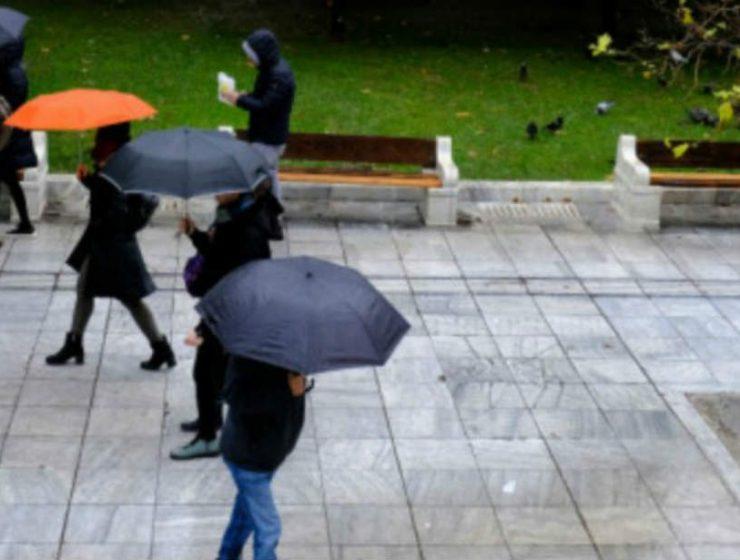 Άστατος καιρός - βροχές