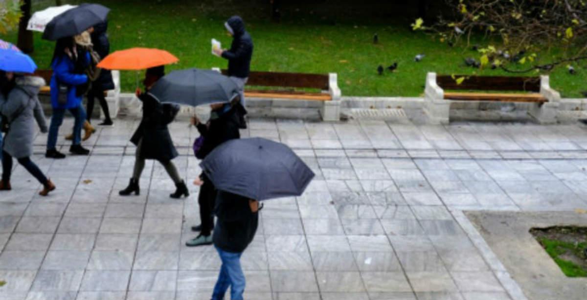 Άστατος καιρός - βροχές 22-10