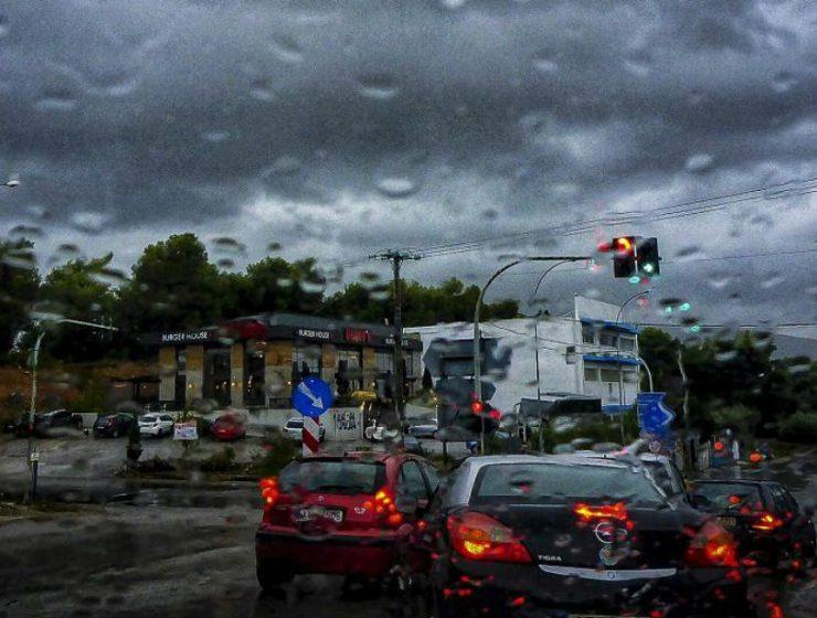 Άστατος καιρός - Βροχές και καταιγίδες
