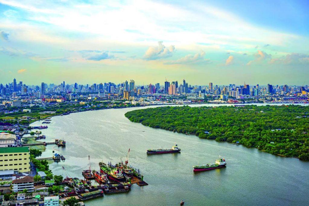 ποταμός Chao Phraya, Μπανγκόκ