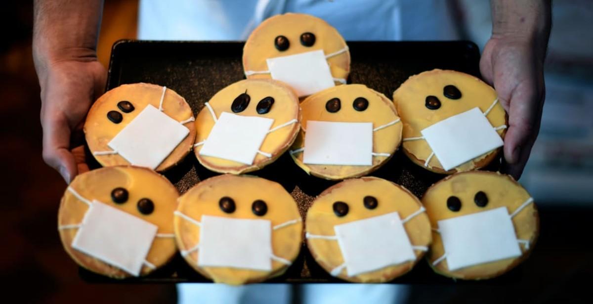 Φαγητά με θέμα τον κορονοϊό που έχουν ως σκοπό να μας κάνουν να χαμογελάσουμε αυτή την περίοδο!