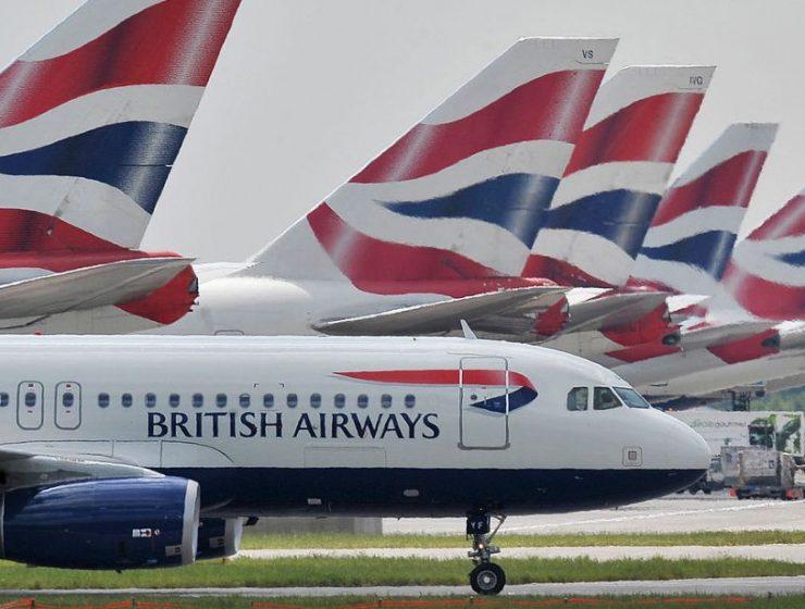 British Airways - πτήσεις Βρετανία