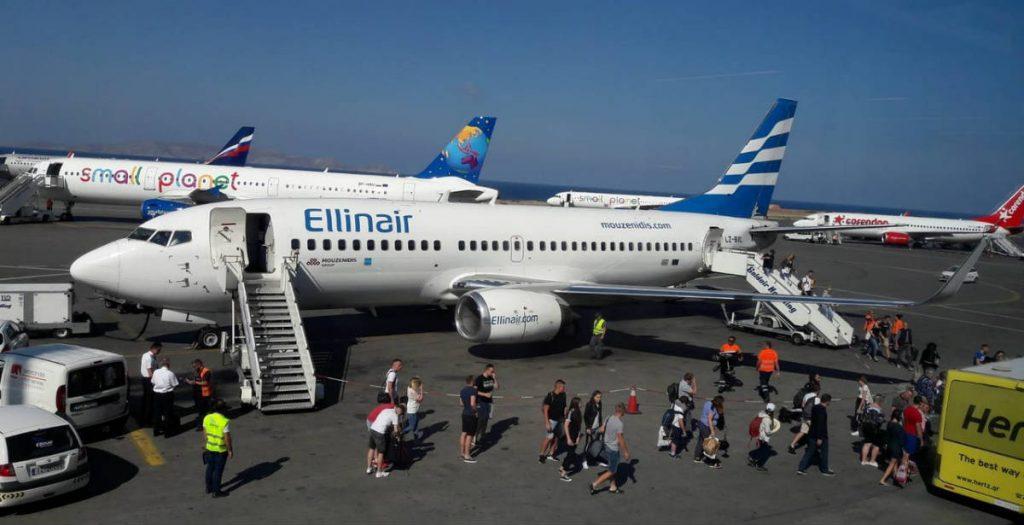 Ellinair αεροπλάνο