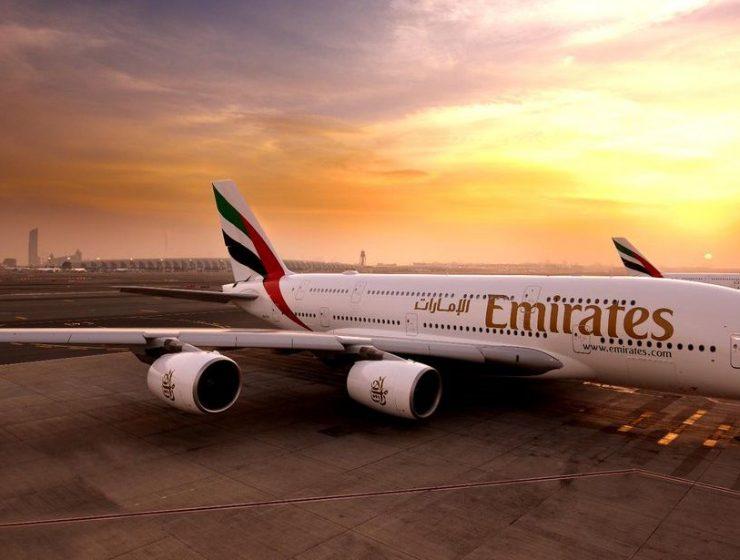 Emirates αναστολή πτήσεων