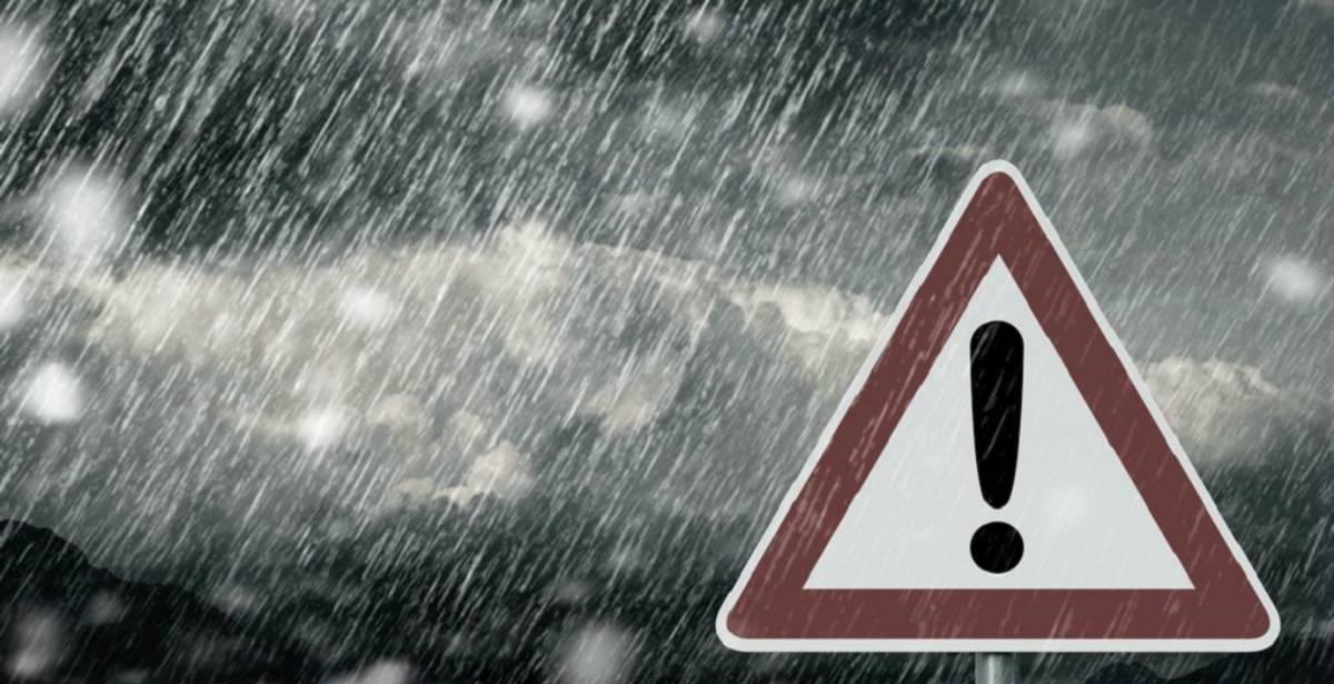Έκτακτο δελτίο επικίνδυνων καιρικών φαινομένων: Βροχές, καταιγίδες, θυελλώδεις άνεμοι και χιονοπτώσεις