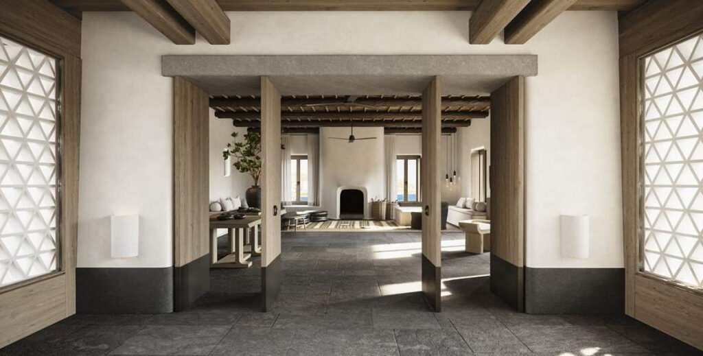 Kalesma ξενοδοχείο αρχιτεκτονική