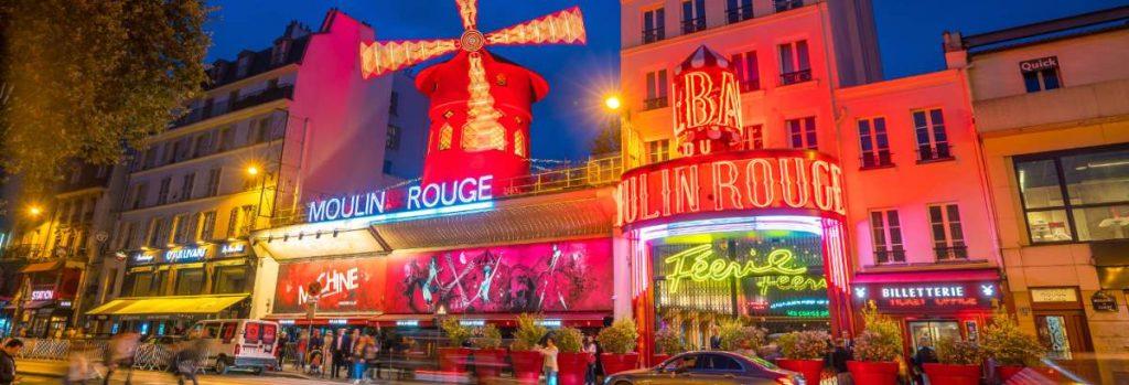 Moulin Rouge νυχτερινή ζωή