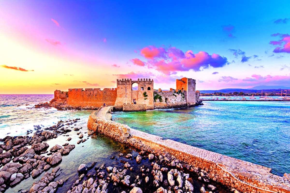 Κάστρο της Μεθώνης, Μεσσηνία