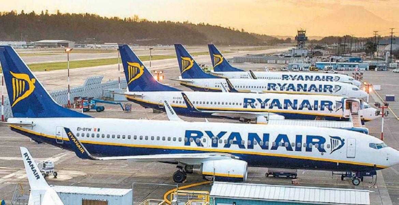 Ryanair αεροπλάνα - αναστολή πτήσεων