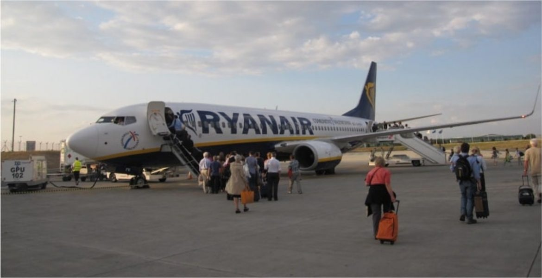 Ryanair ανακοίνωση - επαναπατρισμός