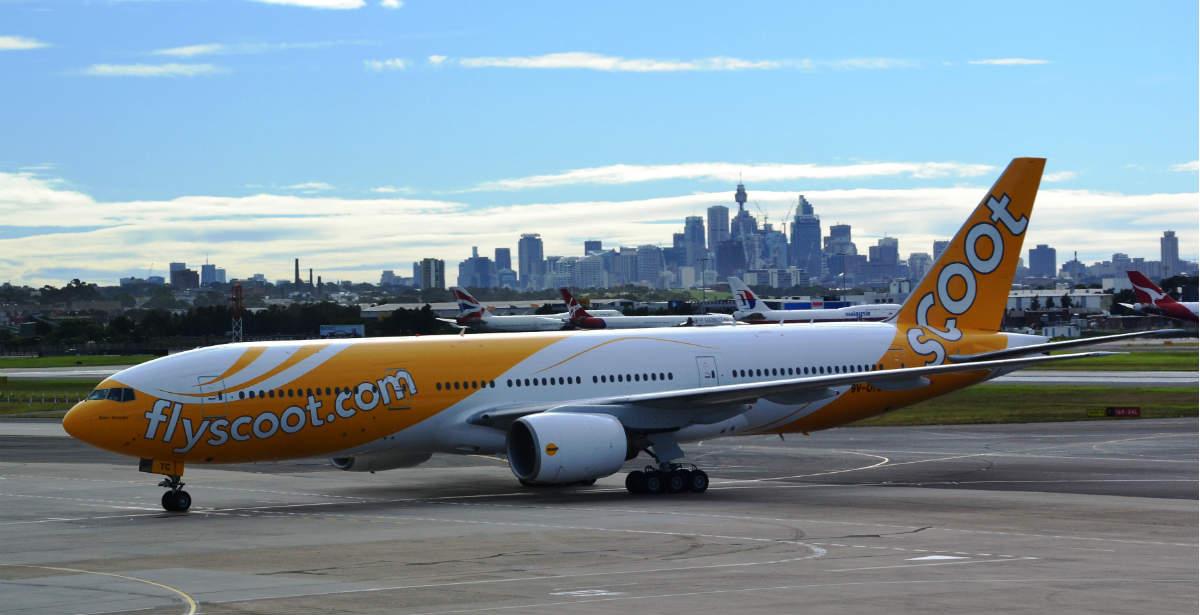 Scoot Airlines αλλαγές