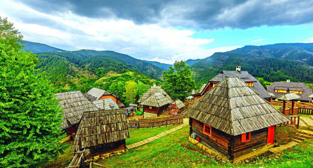 Η «ξύλινη πόλη» της Σερβίας