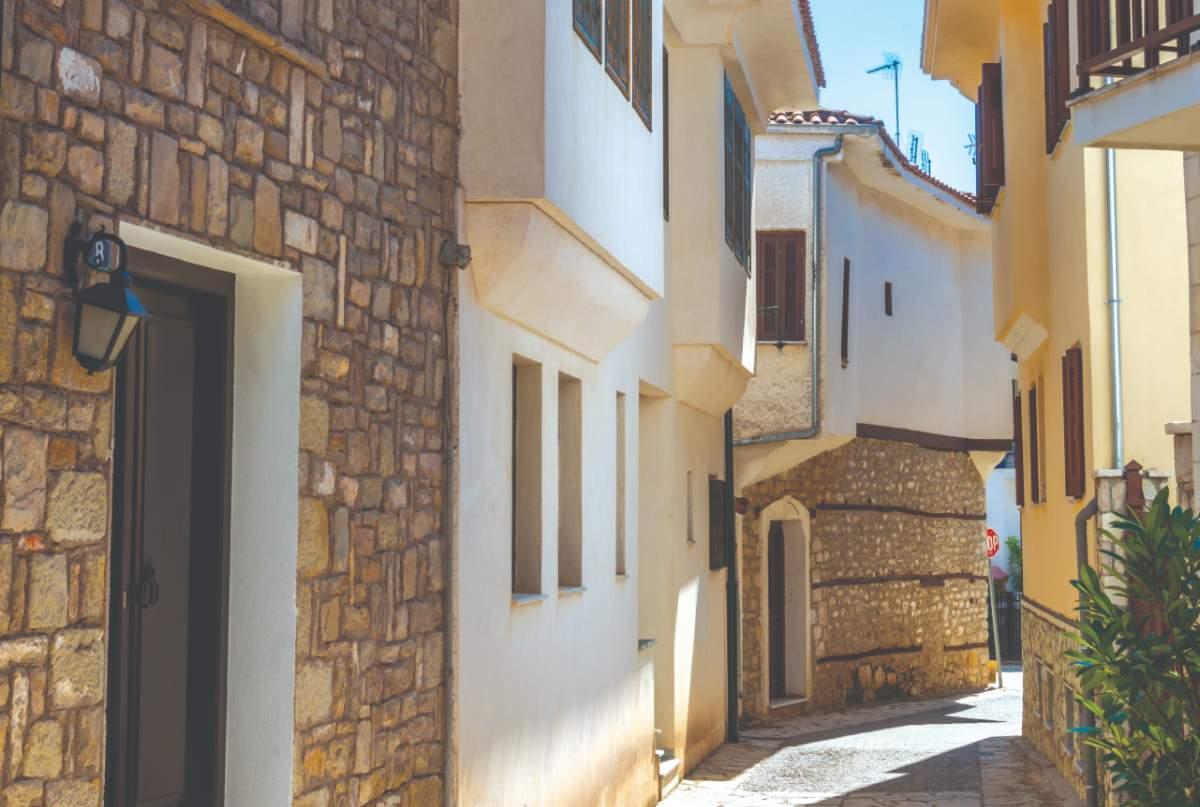 Τα Στενά του Σακαφλιά - Παλιά πόλη Τρικάλων