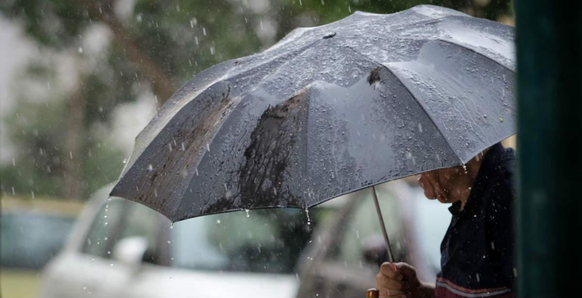 Καιρός: Βροχές και καταιγίδες Ελλάδα