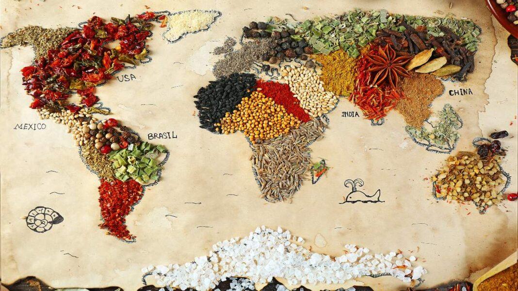 οι κουζίνες του κόσμου που πρέπει να δοκιμάσετε
