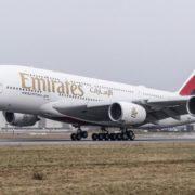 Emirates αεροπλάνο