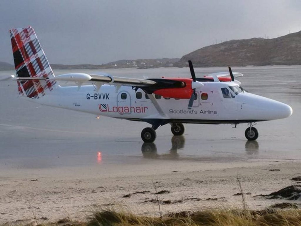 Loganair Twin Otter αεροσκάφος