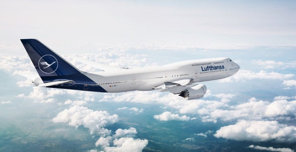 Lufthansa αεροπλάνο αιθέρες