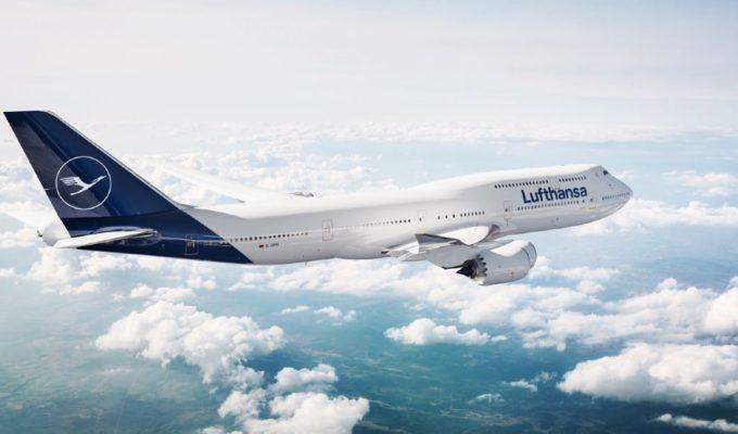 Lufthansa αεροπλάνο