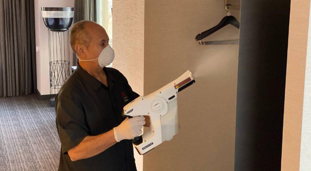 Marriott πρόγραμμα καθαριότητας
