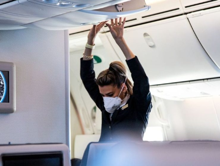 Sharon Pulwer - φωτογραφίες σε πτήση εν μέσω πανδημίας