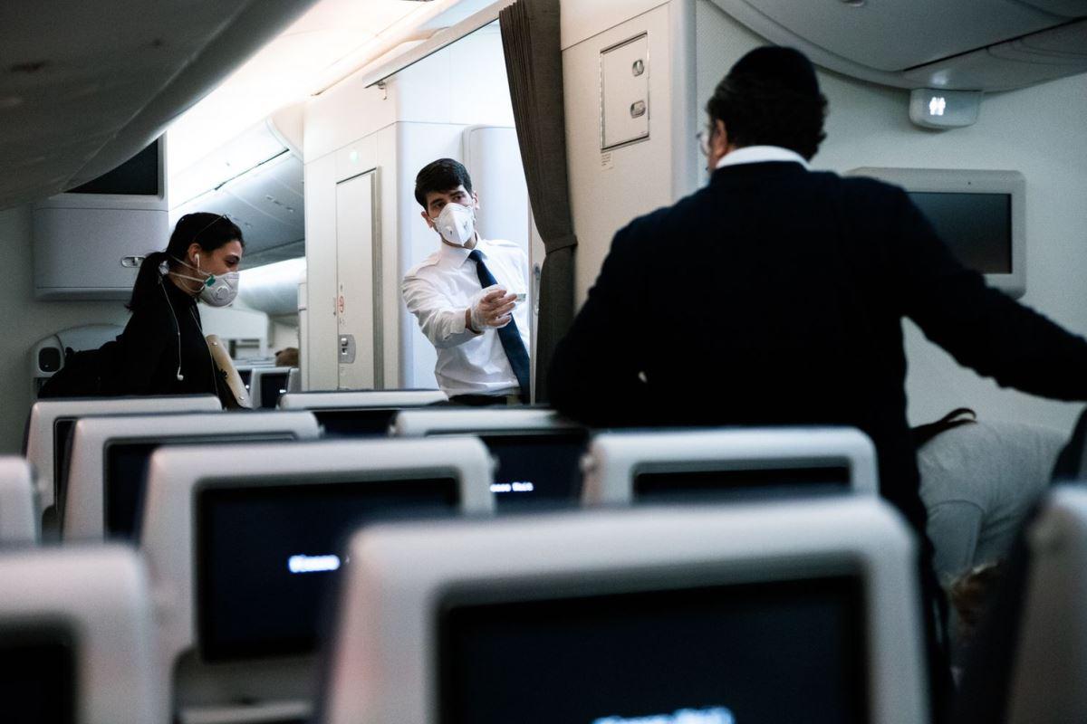 Οδηγίες κατά τη διάρκεια της πτήσης για τα μέτρα ασφάλειας