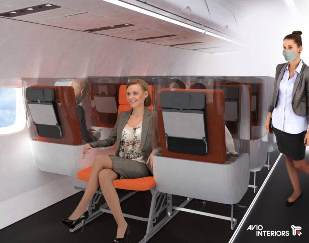 «Janus» καθίσματα στα αεροπλάνα