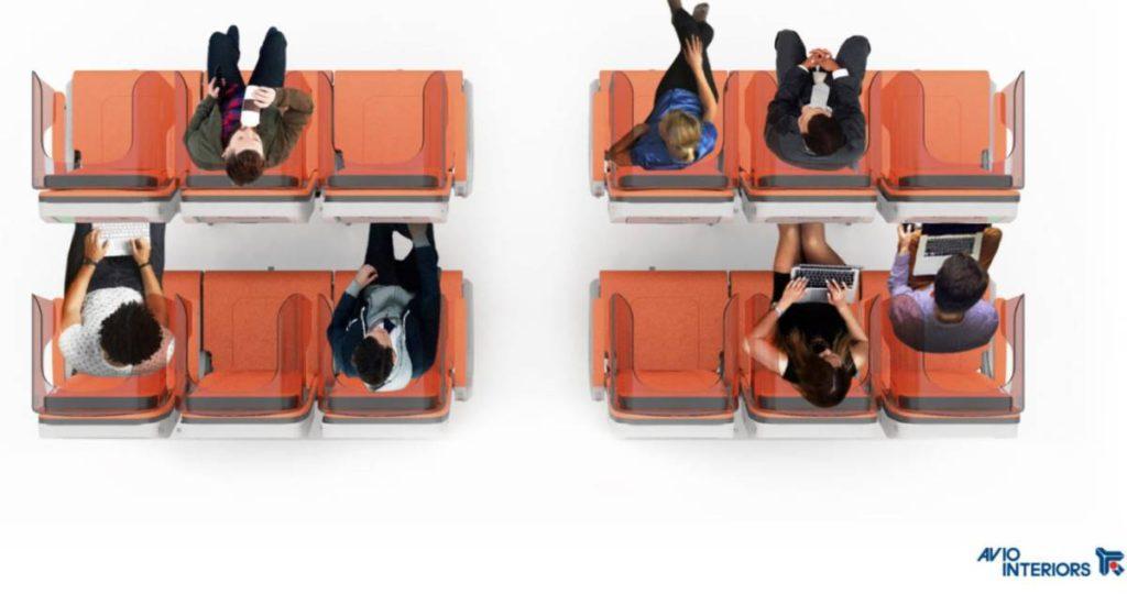 «Glassafe» καθίσματα στα αεροπλάνα