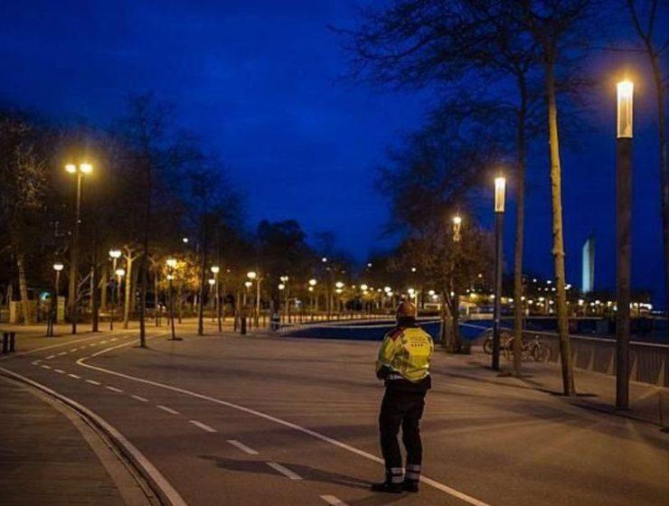 Η Βαρκελώνη σε καραντίνα