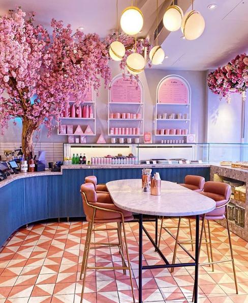 Elan cafe, Λονδίνο