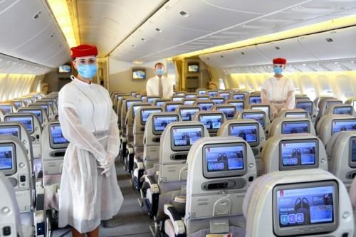 Emirates μέτρα ασφαλείας στις πτήσεις