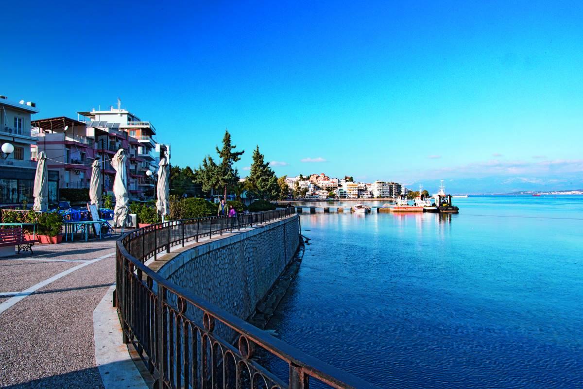 Απόδραση στη Χαλκίδα -Η Παραλία της πόλης