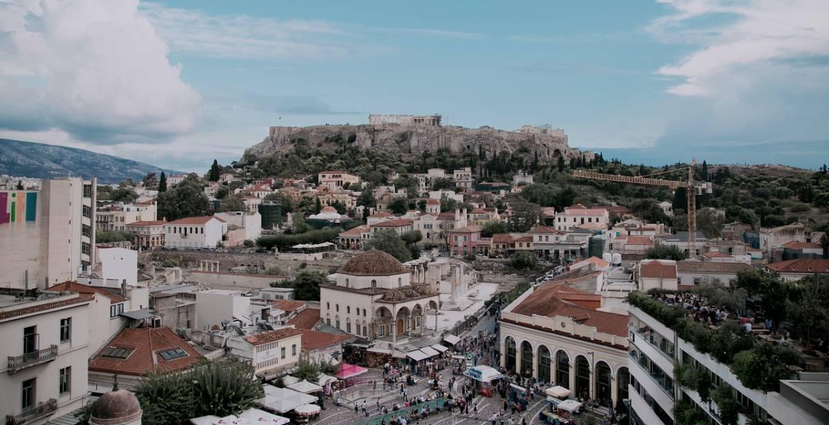 Αθήνα: Βόλτα στα 10 κορυφαία μέρη & φαγητό σε μια ταράτσα του 1870