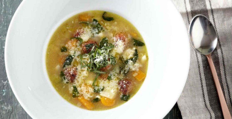 Σούπα μινεστρόνε συνταγή