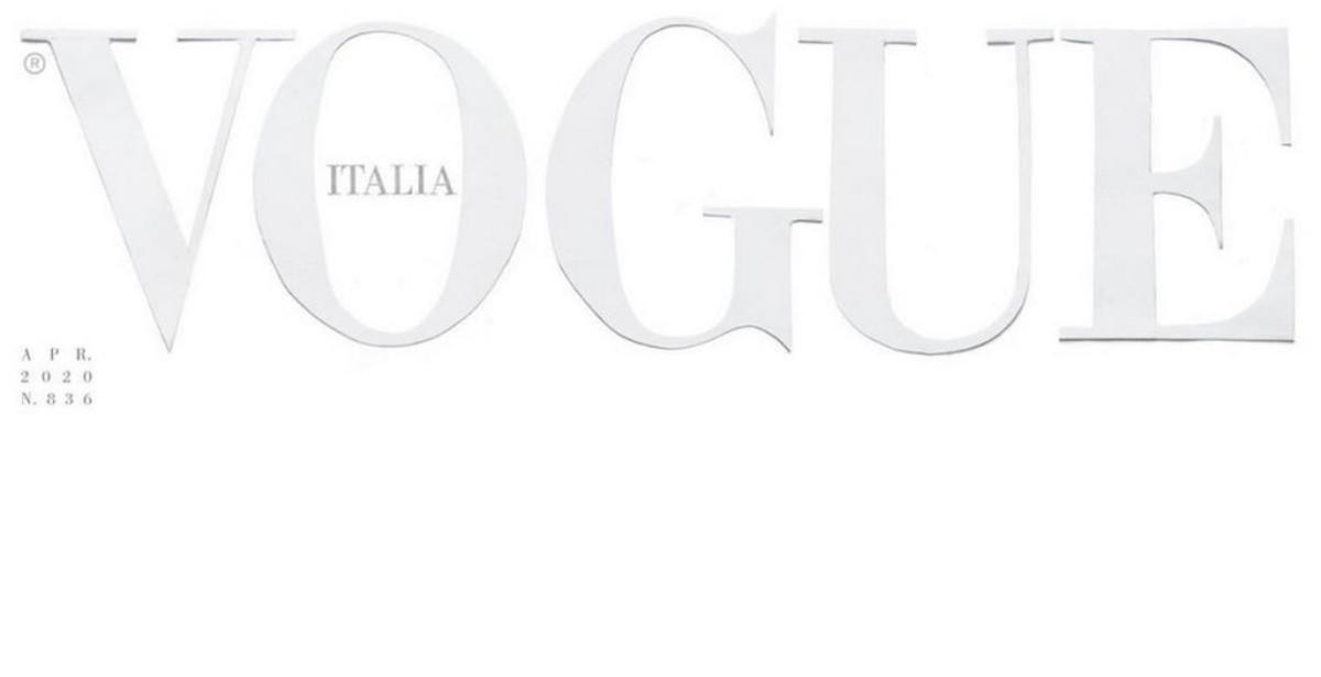 Παγκόσμια αποθέωση για το εξώφυλλο της Vogue Ιταλίας λόγω κορονοϊού!