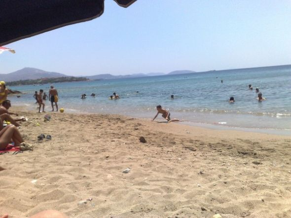 Παραλία Αγία Μαρίνα Κορωπίου