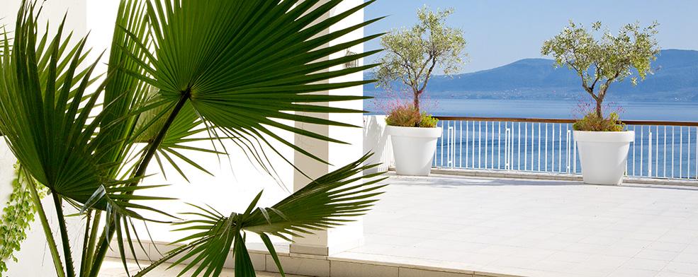 Θέα από το Club Med Gregolimano στην Αιδηψό