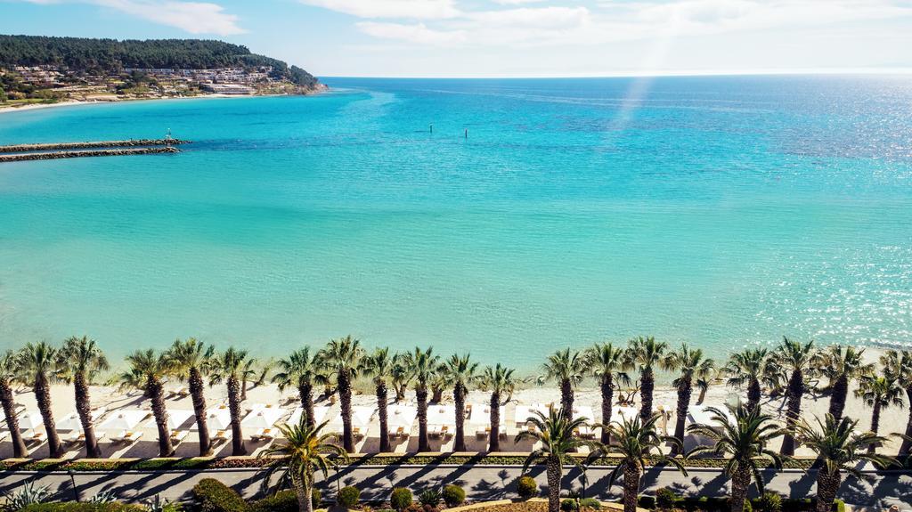 Θέα από το Sani Beach στη Χαλκιδική