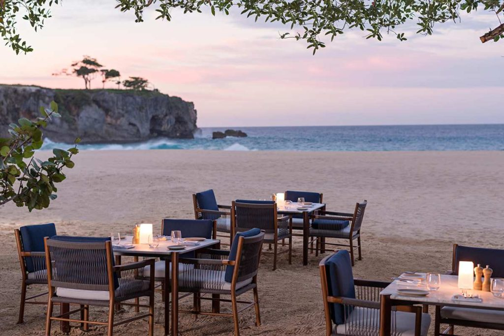 Amanera, δείπνο στην παραλία