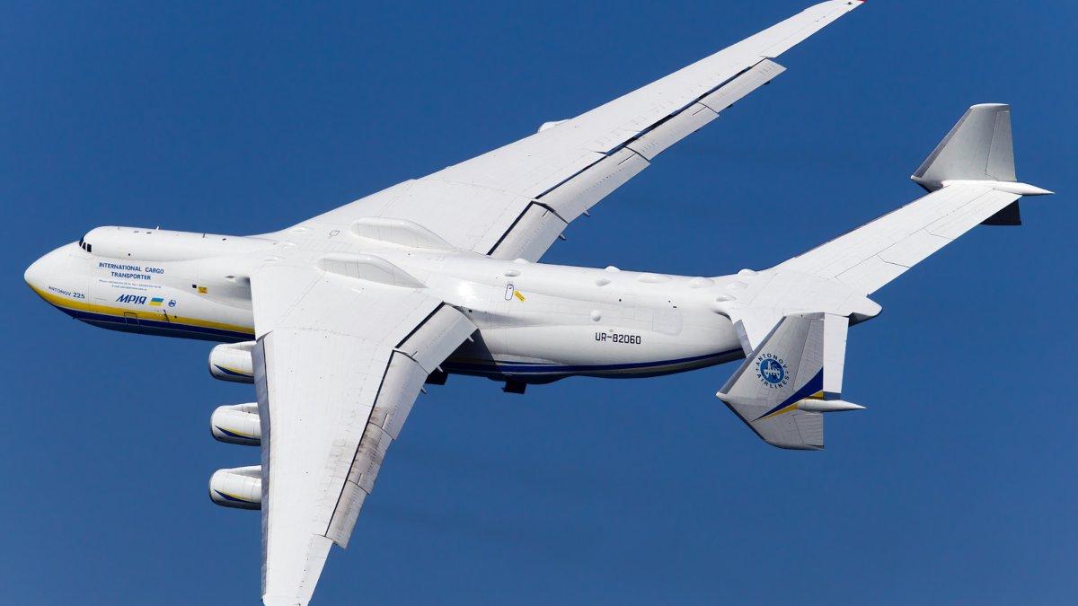 Το θηριώδες αεροσκάφος Antonov 225 προσγριώθηκε στην Αθήνα