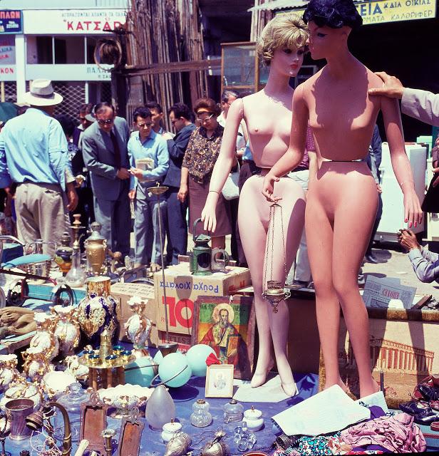 Παλιά αγορά Αθήνας κούκλες