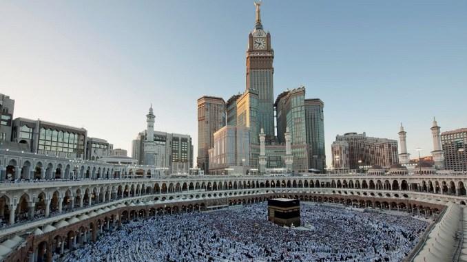 Το εντυπωσιακό ρολόι Makkah στη Μέκκα της Σαουδικής Αραβίας