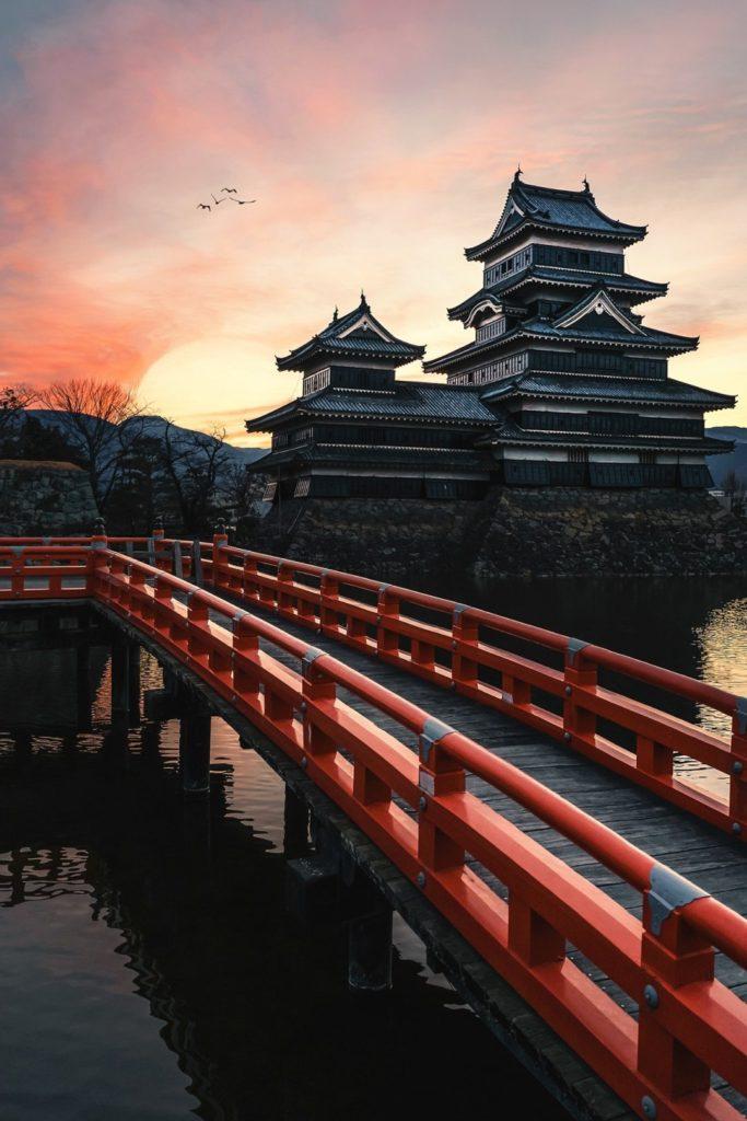 Κάστρο Matsumoto, Ιαπωνία