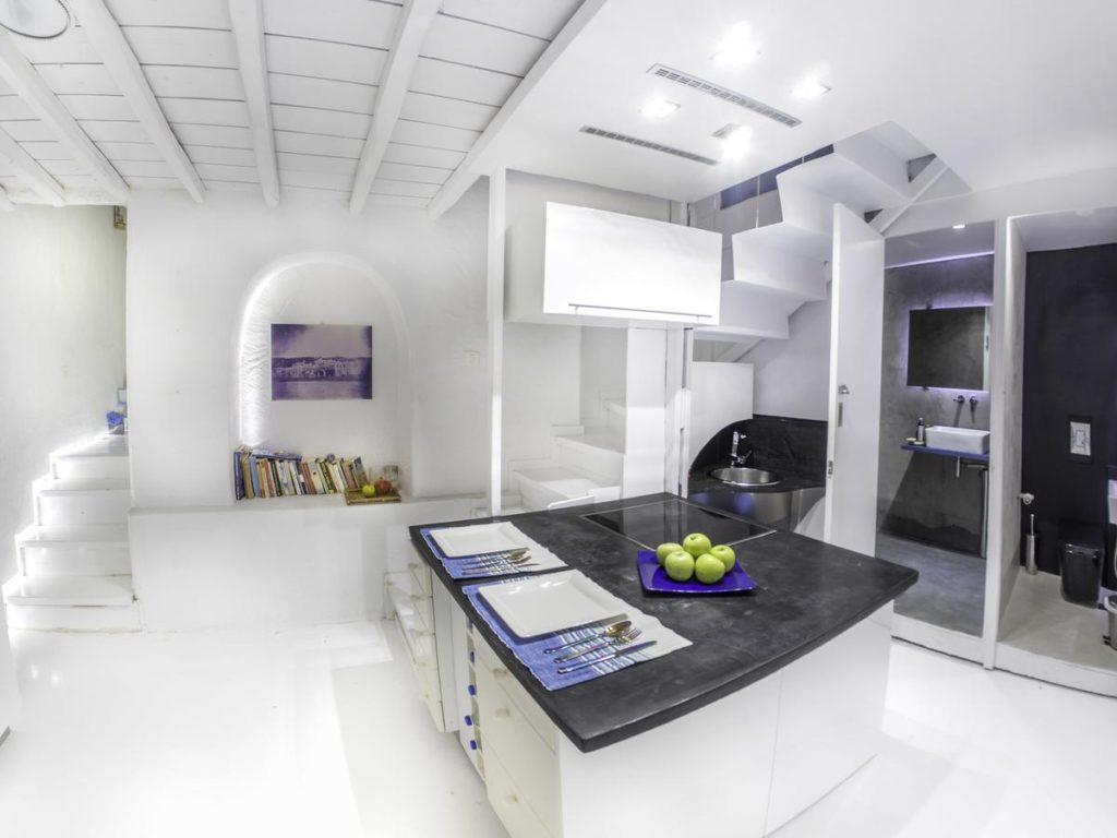 Κουζίνα Mykonos Town Pad