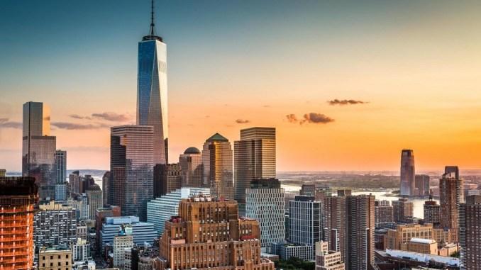 Το One World Trade Center στη Νέα Υόρκη είναι ένα από τα ψηλότερα κτίρια στον κόσμο
